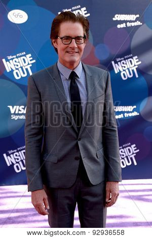 LOS ANGELES - JUN 8:  Kyle MacLachlan at the