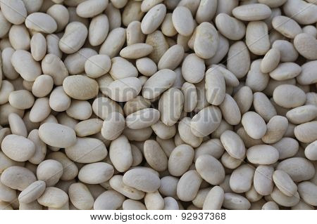 Haricot beans.
