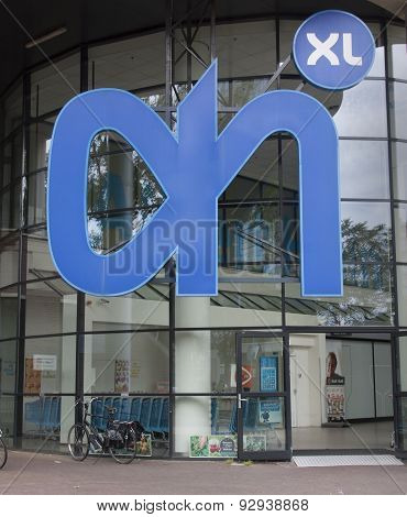 Albert Heijn Xl Retail Food Store In Holland