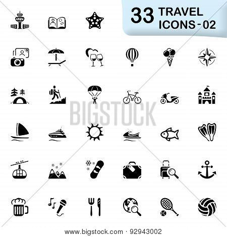 33 Black Travel Icons 02.eps