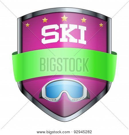 SKI Shield badge.
