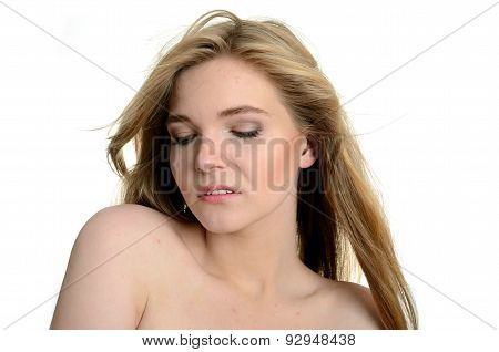 Blond Girl Portrait