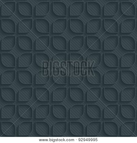 Classic dark perforated paper with outline extrude effect. 3d seamless background. See others in My Perforated Paper Sets.
