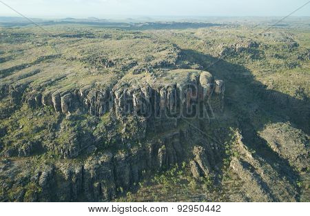 An Aerial View Of The Ranges Of The Northern Territory, Between Kakadu Np And Arnhem Land
