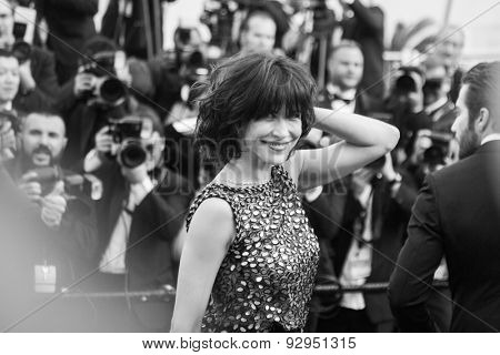 Sophie Marceau. Opening Ceremony 'La Tete Haute' Premiere. 68th Annual Cannes Film Festival at Palais des Festivals on May 13, 2015 in Cannes, France.