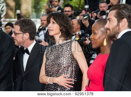 Sophie Marceau. Jury. Opening Ceremony 'La Tete Haute' Premiere. 68th Annual Cannes Film Festival at Palais des Festivals on May 13, 2015 in Cannes, France.