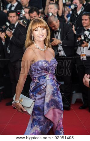 Actress Jane Seymour attends Opening Ceremony 'La Tete Haute' Premiere. 68th Annual Cannes Film Festival at Palais des Festivals on May 13, 2015 in Cannes, France.