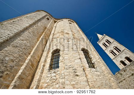 Zadar Saint Donat Church Wide View