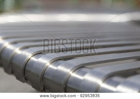 Steel Beam Close