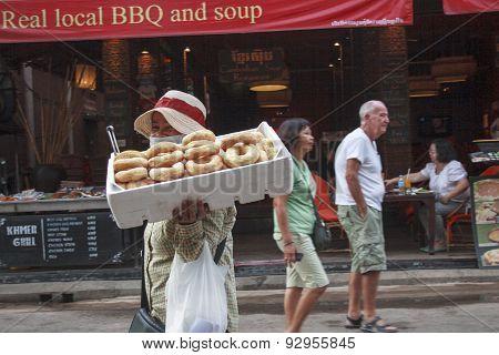 Donut Seller