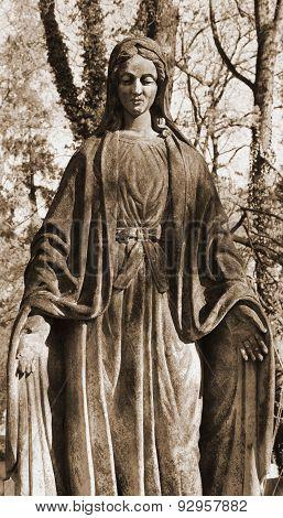 Virgin Mary (styled Retro)