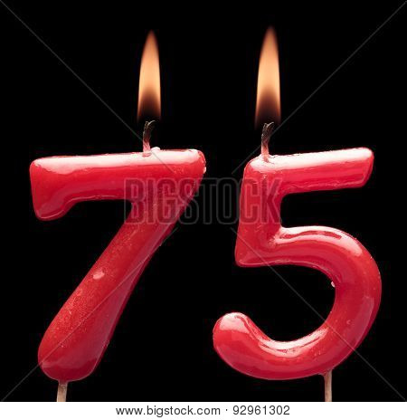 Seventy five anniversary