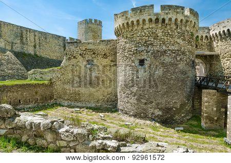 Zindan Gate of Belgrad fortress,Serbia.