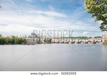 Beautiful Day In Prague