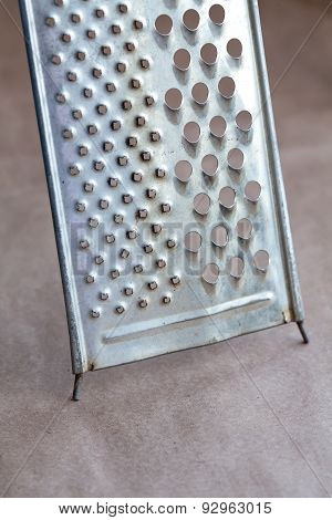 Retro Stainless Steel Grater