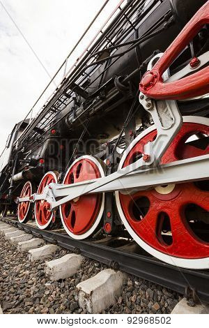 wheels of the old train