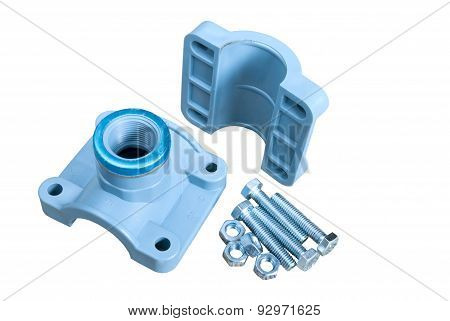 Clamp On Plastic Pipes
