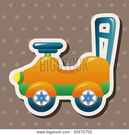 Baby Walker Theme Elements