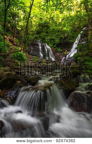 Soco Falls near Cherokee, North Carolina 2