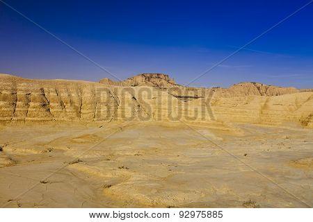 Bardenas Reales barren landscape