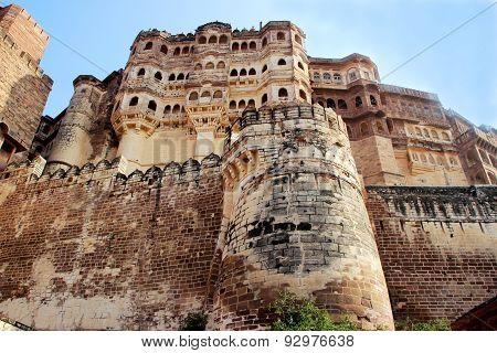 Mighty Meharongarh Fort
