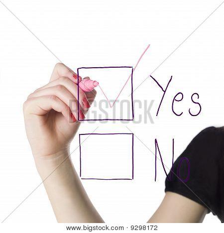 Yes-box