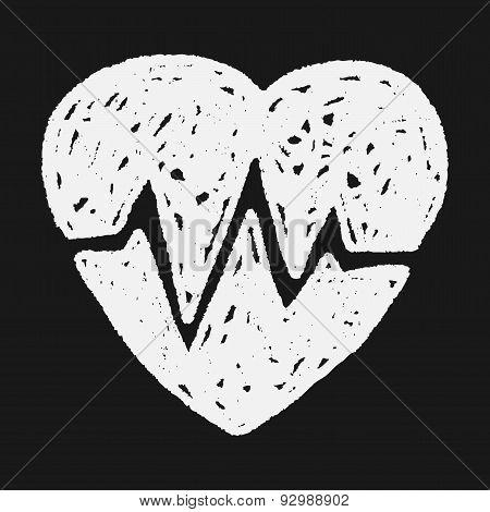 Heartbeat Doodle