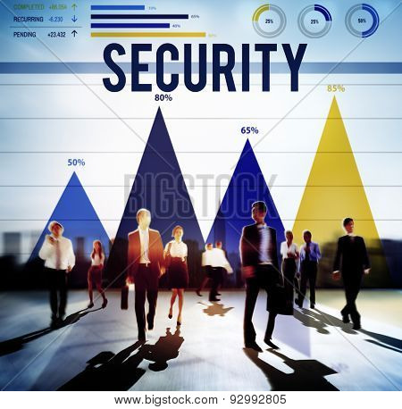 Security Privacy Policy Protection Secrecy Concept