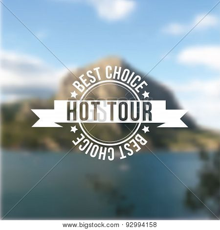 Hot Tour, Best Choice Stamp.