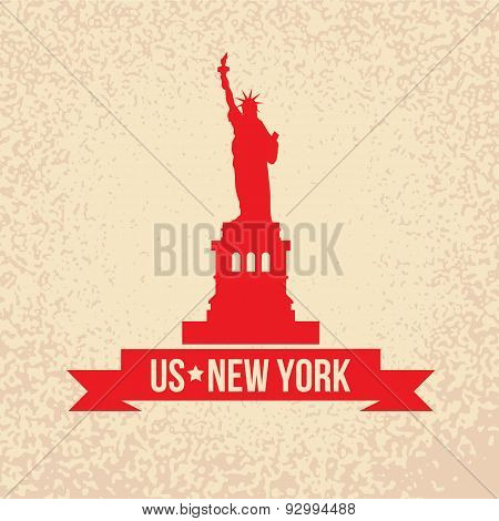 Statue Of Liberty - The symbol of US, New York.