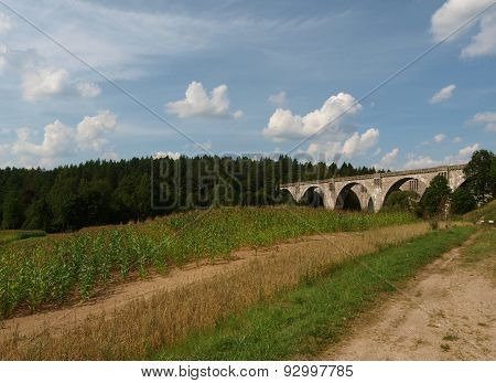 Aqueducts railway Stanczyki.