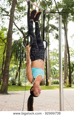Hanging On Gymnastic Rings