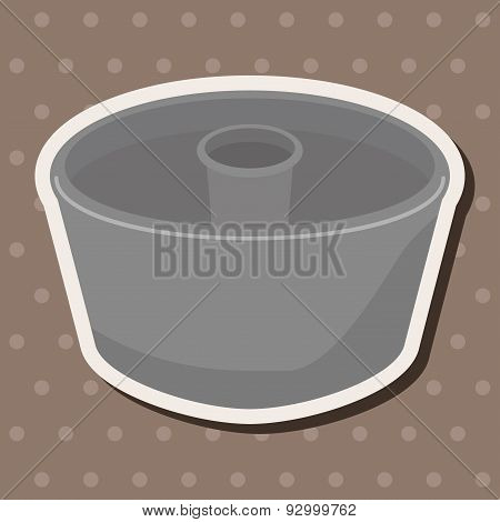 Kitchenware Baking Mold Theme Elements