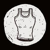 image of vest  - Sport Vest Doodle - JPG