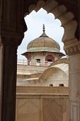 picture of mughal  - Agra fort was the residence of the Mughal emperors of India - JPG