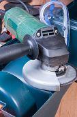 image of friction  - Electric grinder - JPG