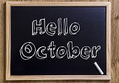 foto of october  - Hello October  - JPG