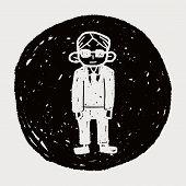pic of bodyguard  - Bodyguard Doodle - JPG