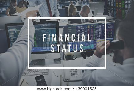 Financial Status Accounting Banking Money Concept