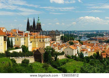 Prague Castle is the most famous landmark of Prague