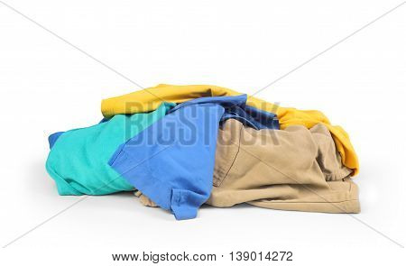 mountain clothing isolated on a white background