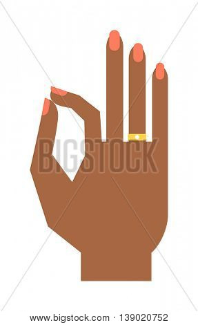 Symbol Ok vector illustration.