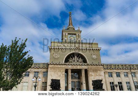Volgograd Railway Station.