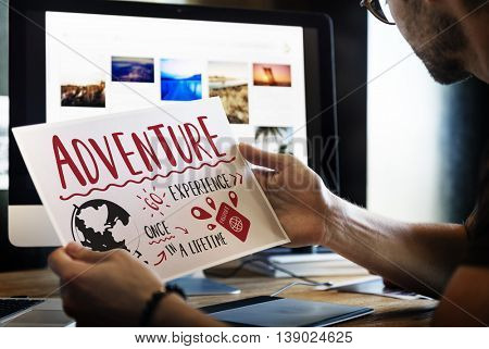 Holiday Travel Voyage Vacation Trip Concept