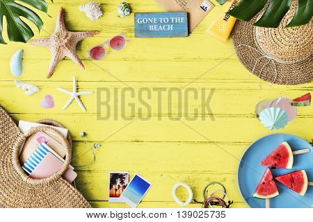 Summer Vacation Holiday Nature Concept