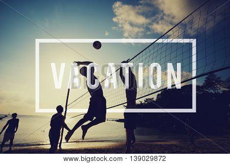 Vacation Trip Holiday Carefree Freedom Relaxation Concept