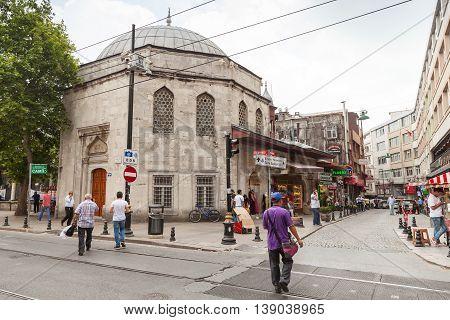 Istanbul Street, Koprulu Mehmet Pasa Mosque