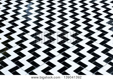 Modern zig zag floor pattern background wallpaper