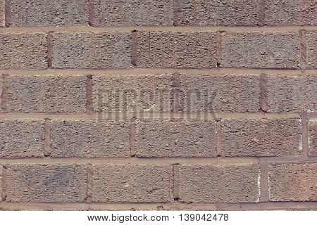 brickwork, background and texture concept - brick wall backdrop