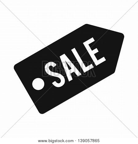 Sale icon in simple style isolated vector illustration